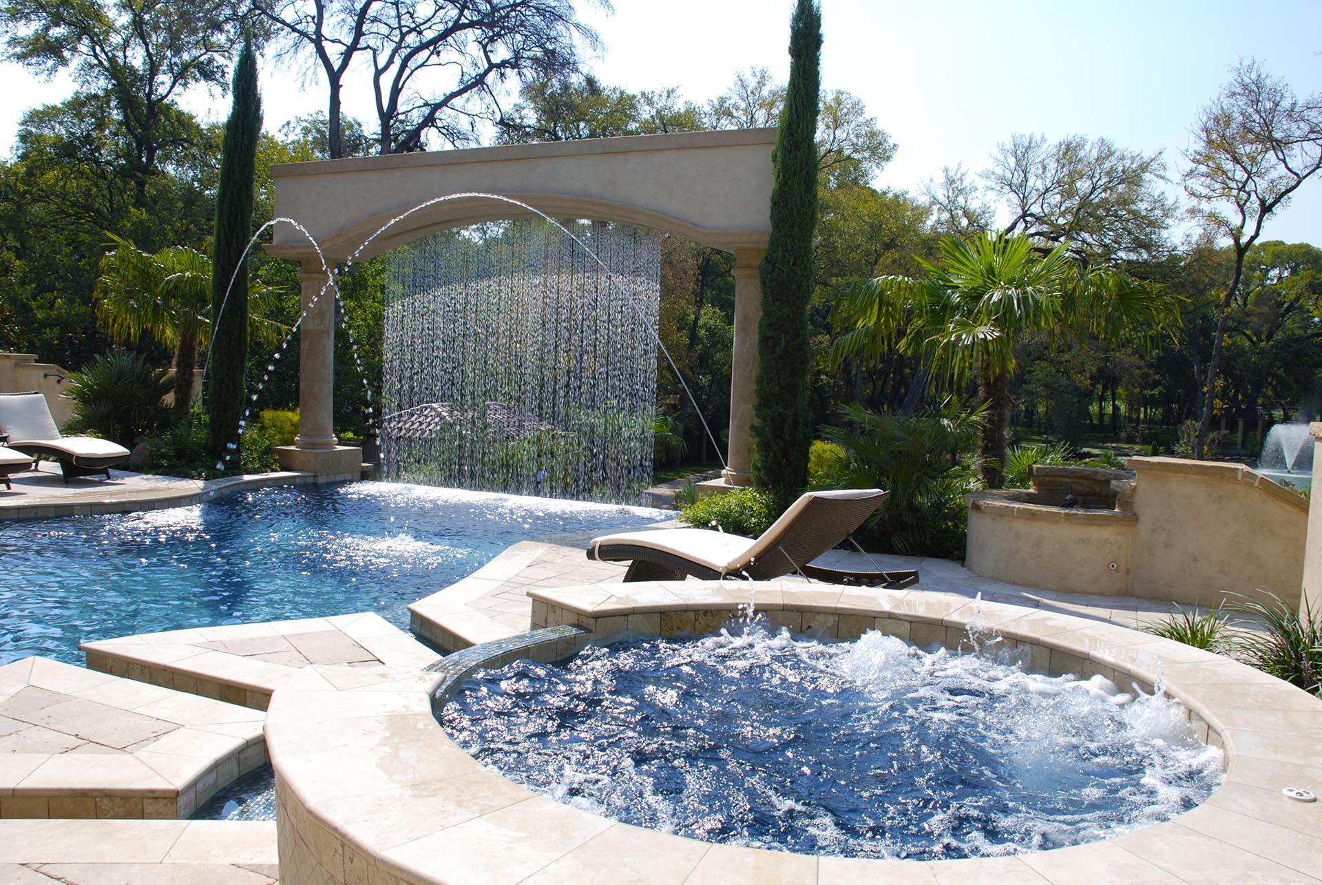 Dallas Landscape Architect Design Build Original Landscape Concepts ~ 30013301_Garten Gestalten Mit Kleinem Pool